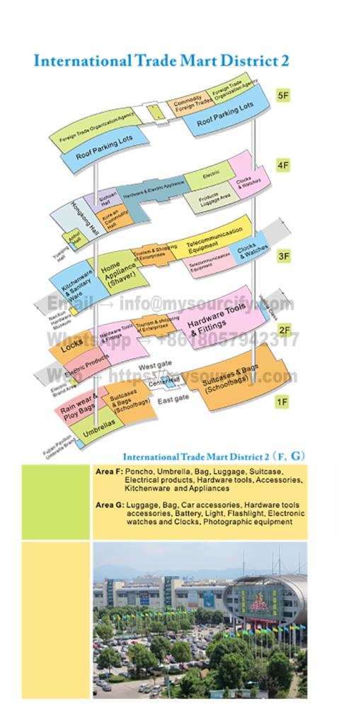 District 2 of Yiwu International Trade Mart