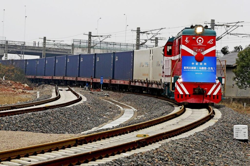 Madrid-Yiwu Train