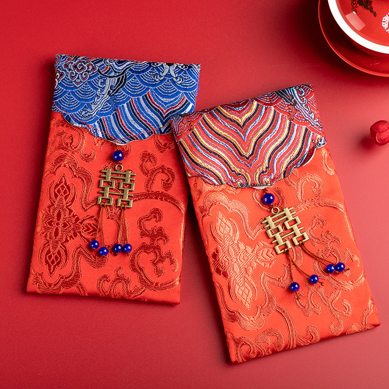 traditional Chinese style red envelopes
