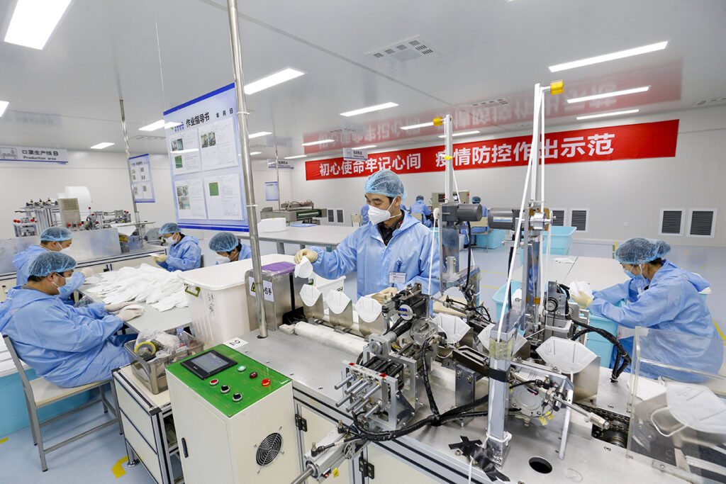 N95-production-line