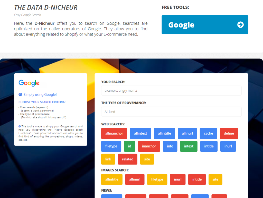 D-Nicheur-Google-Search