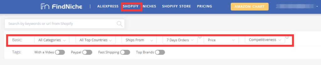 FindNiche-Shopify