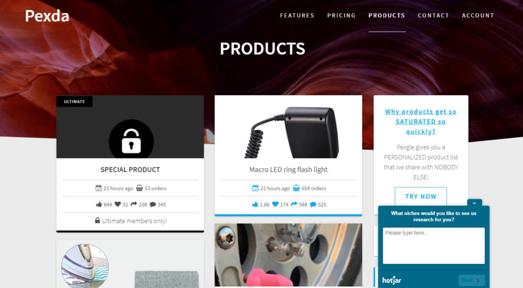 Pexda Products