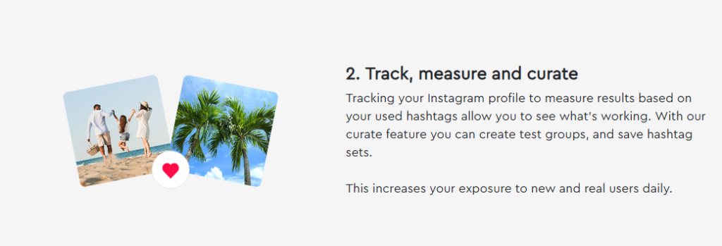 Track, measure and curate