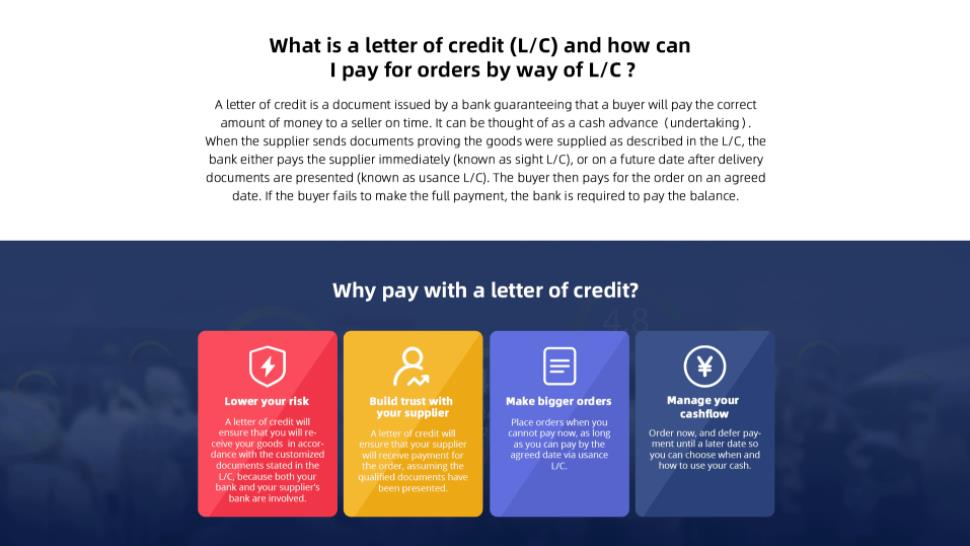 Alibaba-Letter of Credit