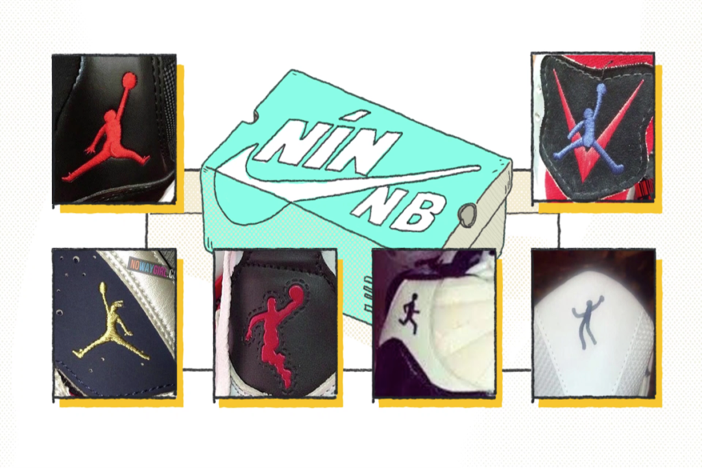All Kinds of logo used by Putian shoes