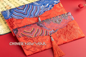 traditional Chinese red envelopes