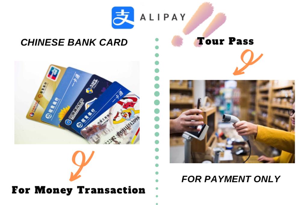 Alipay tour pass