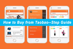 How to buy from Taobao